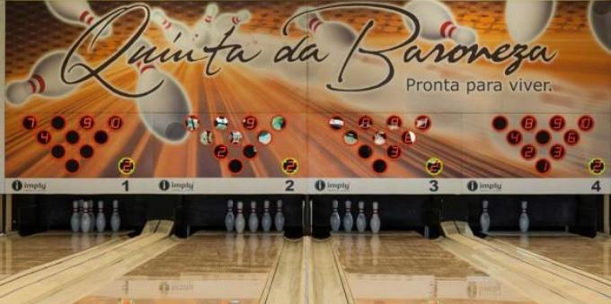 Quinta da Baroneza: boliche no Clube da Mata