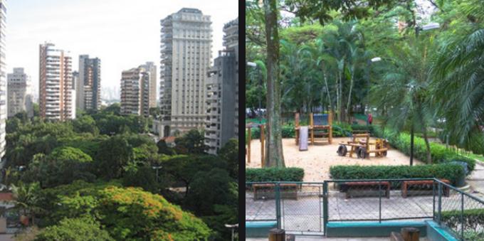 Vila Nova Conceição: Praça Pereira Coutinho