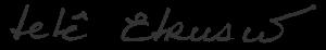 Assinatura de Tetê