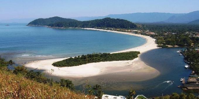 Barra do Una, no Litoral Norte