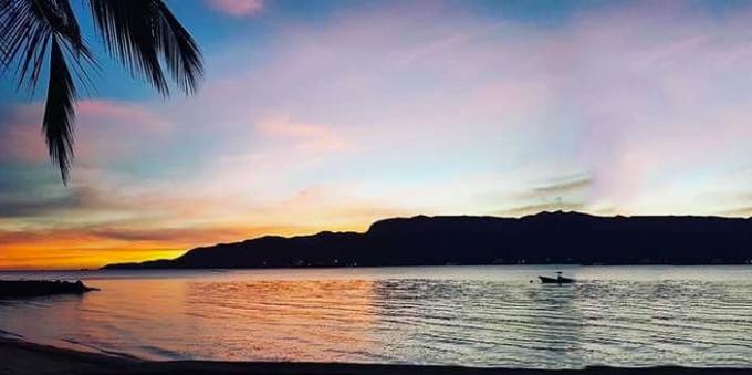 Pôr do Sol na Ilhabela, no Litoral Norte