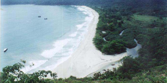 Praia do Sono em Paraty