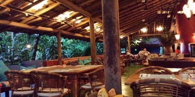 Restaurantes: área interno do Cacau