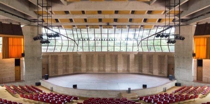 Auditório Cláudio Santoro em Campos do Jordão