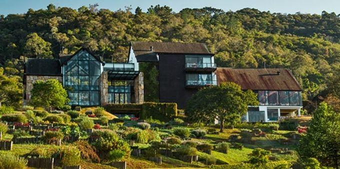 Foto da fachada do Botanique Hotel & Spa